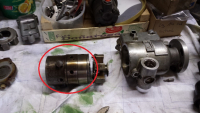 Roosamaster injection pump head and rotor assembly part 1