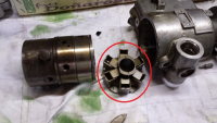 Roosamaster injection pump governor assembly