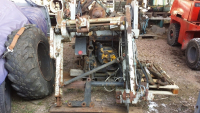Cable winch, forest winch