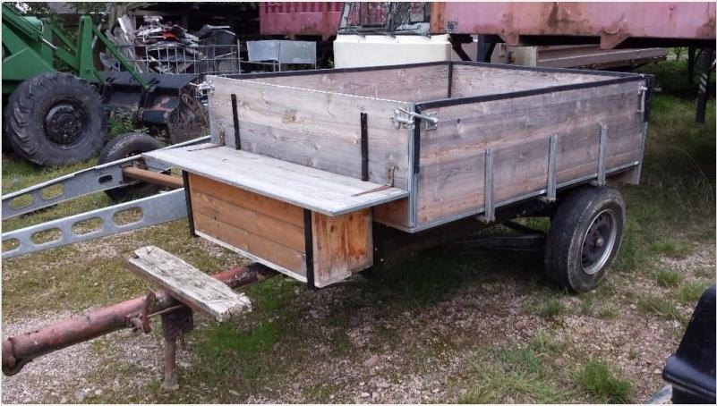 treckerscheune anh nger f r traktor einachser oldtimer. Black Bedroom Furniture Sets. Home Design Ideas