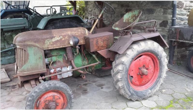 treckerscheune g ldner af15 traktor oldtimer aus den 50ern. Black Bedroom Furniture Sets. Home Design Ideas